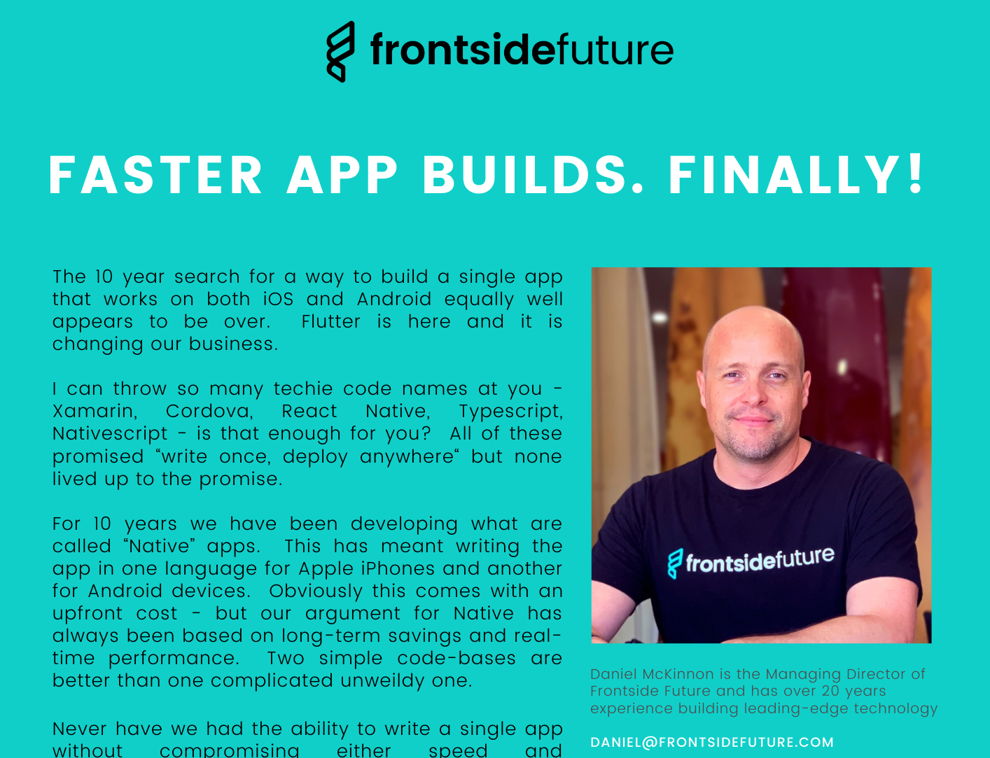 Faster app builds