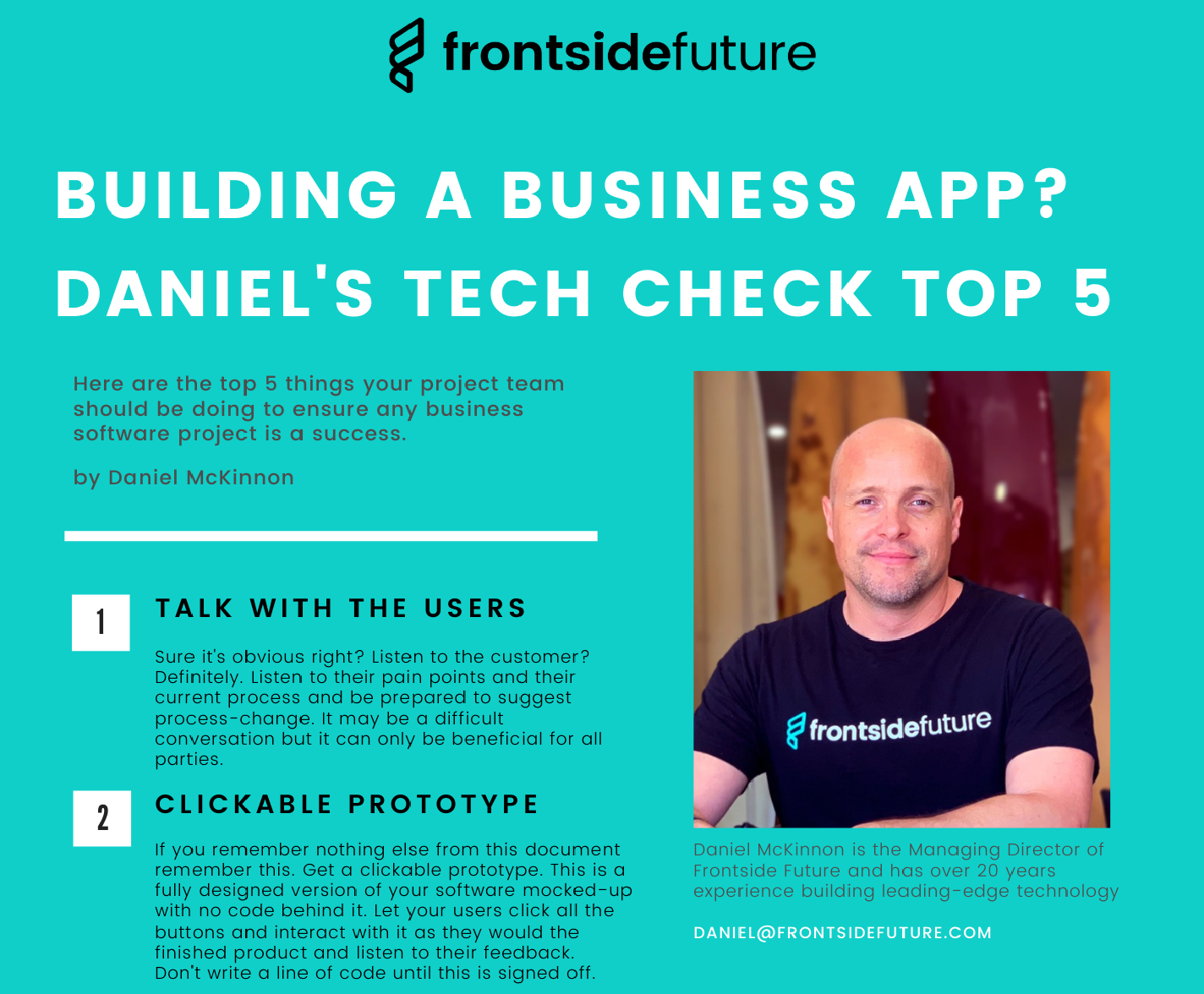 Building a Business App