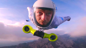 Electrified wingsuits