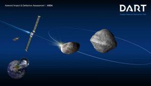 2437 dart mission graphic nasa asteroid